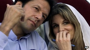 Imran Khan and Jemima Khan (2002)
