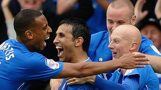 Jack Lester and Chesterfield team-mates in 2011