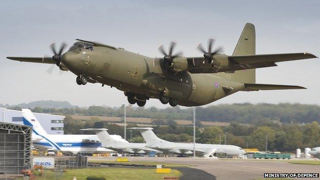 C130 Hercules aircraft