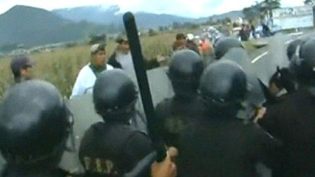 Police in Guatemala