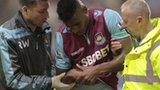 West Ham striker Ricardo Vaz Te