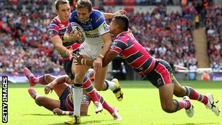 Leeds Rhinos and Warrington Wolves