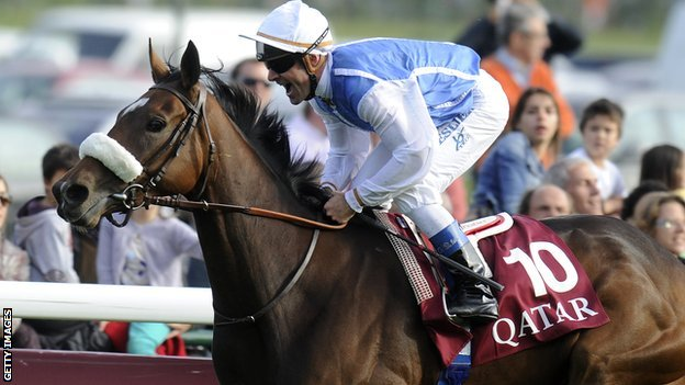 Solemia ridden by Olivier Peslier