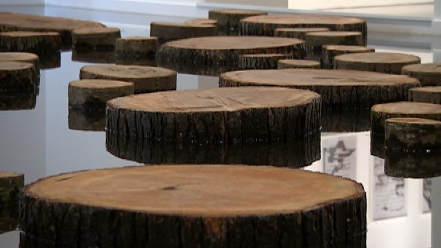 Gost Log by Matti Braun at Arnolfini, Bristol