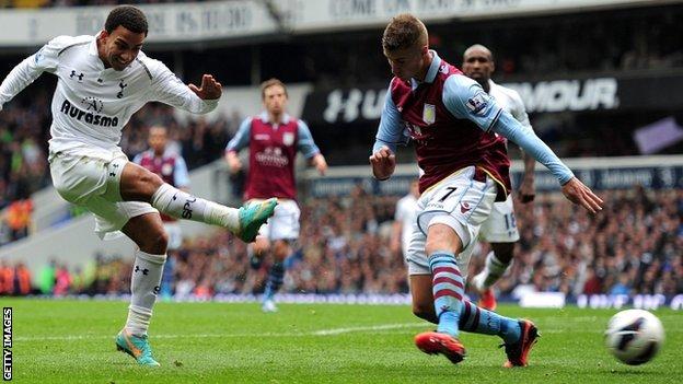 Prediksi Aston Villa vs Tottenham 27 Desember 2012
