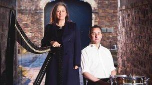 Scottish folk duo Mary Macmaster and Donald Hay