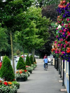 A street in Broughshane
