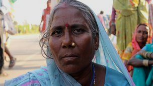 Laadon, a tribal from Uttar Pradesh, India