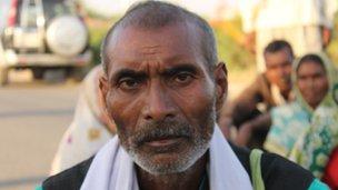 Munnalal of Bundelkhan in Uttar Pradesh, India