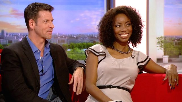 Lloyd Owen and Heather Headley