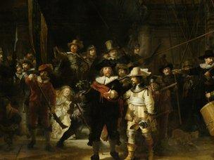 Night Watch, Rembrandt (1642)