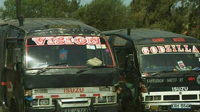 Matatu vehicles