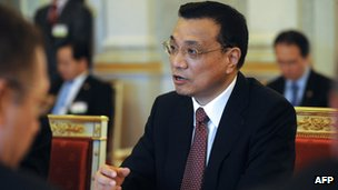 File photo: Li Keqiang, 30 April 2012