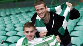 James Forrest and Adam Matthews
