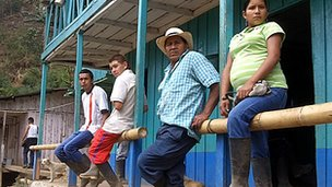 People in the Cauca region