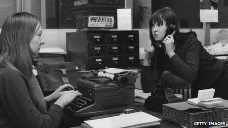 1960s office life