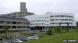 Ninewells Hospital (pic courtesy of Val Vannet)