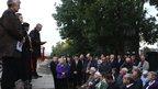 Memorial service at Harrow and Wealdstone station