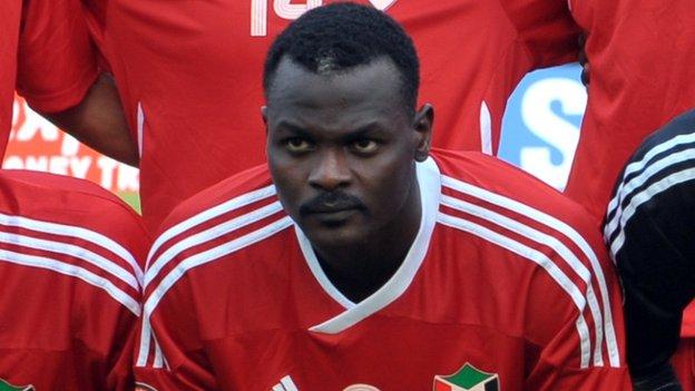 Sudan's Saif Ali