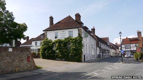 Spread Eagle Hotel, Midhurst