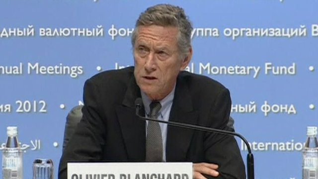 The IMF's Chief economist Olivier Blanchard