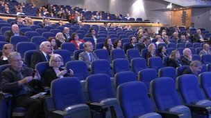 Tory party conference hall