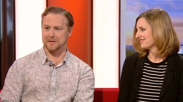 Samuel West and Laura Carmichael