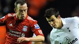Charlie Adam and Gareth Bale