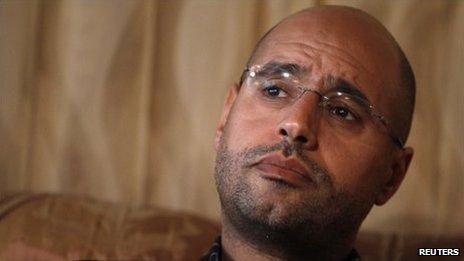 Saif al-Islam Gaddafi (file photo)