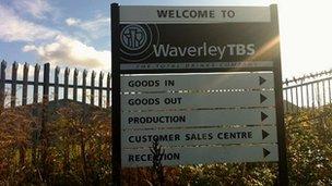 Waverley TBS Ltd sign