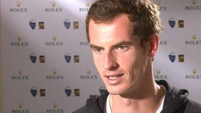 World number three Andy Murray