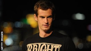 Andy Murray in Shanghai