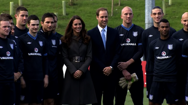 The Duke and Duchess of Cambridge open St George's Park