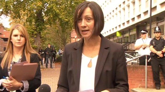 Hertfordshire Police's Detective Inspector Justine Jenkins