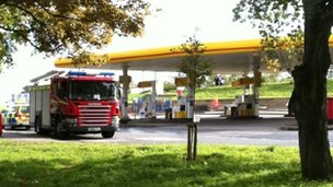 Shell Service Station in South Queesferry Pic: John Easton