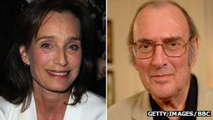 Kristin Scott Thomas and Sir Harold Pinter