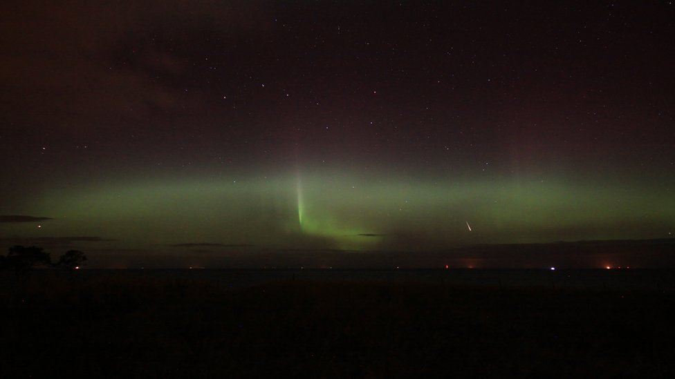 Galerry BBC News In pictures Northern Lights over Scotland