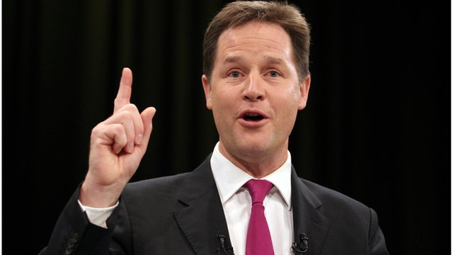 Deputy Prime Minister Nick Clegg has told his party conference the Liberal Democrats are no longer a party of protest but a party of government