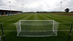 One of the 11 outdoor training pitches at St George&#039;s Park