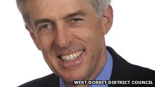 Robert Gould, leader of West Dorset District Council