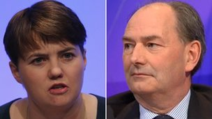 Ruth Davidson and Lord Forsyth