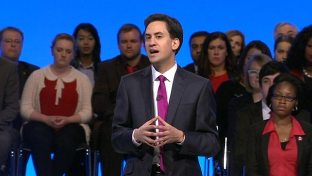 "Opposition leader Ed Miliband has unveiled his vision of Labour as the ""one nation"" party."