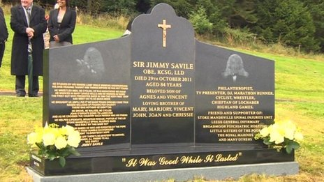 Sir Jimmy Savile's grave