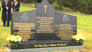 Sir Jimmy Savile&#039;s grave