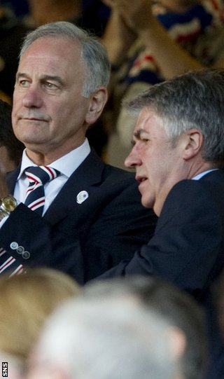 Green and Murray are confident of leading Rangers back to financial health