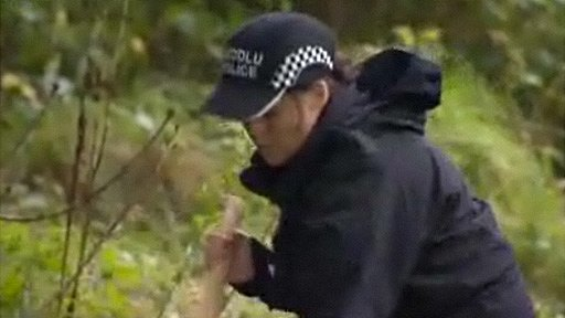 Police search