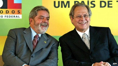 Jose Dirceu AND Lula
