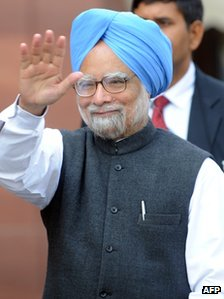 Indian Prime Minister Manmohan Singh