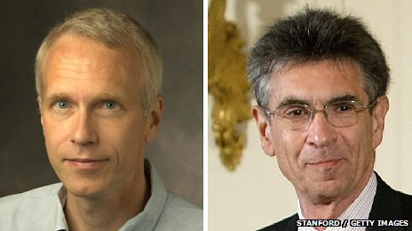 Brian Kobilka and Robert Lefkowitz Stanford and Getty Images 2