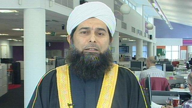 Shaykh Ibrahim Mogra of the Muslim Council of Britain